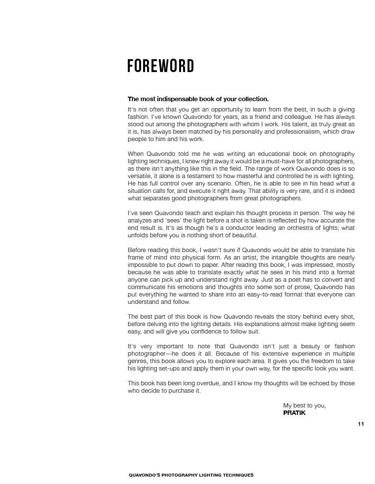 Pratik's Foreword